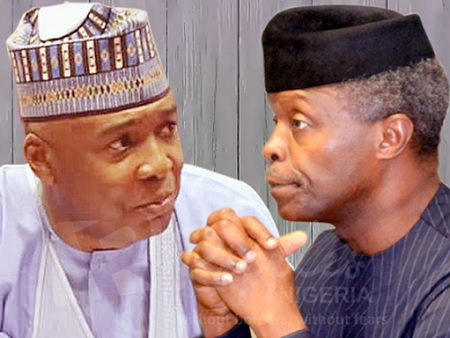 Saraki and Osinbajo