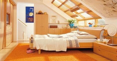Memanfaatkan Loteng Untuk Kamar tidur