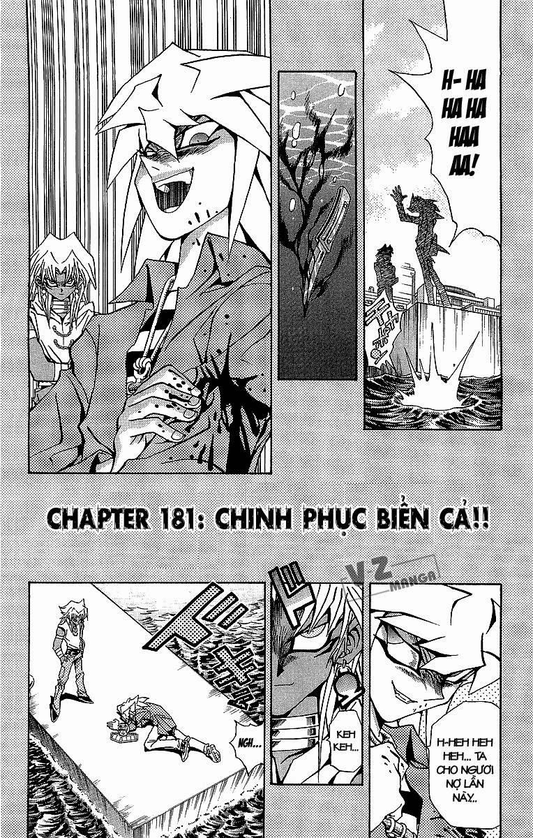 YUGI-OH! chap 181: chinh phục biển cả!! trang 3