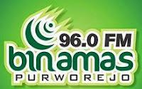 Streaming Radio Binamas 96.0 FM Purworejo