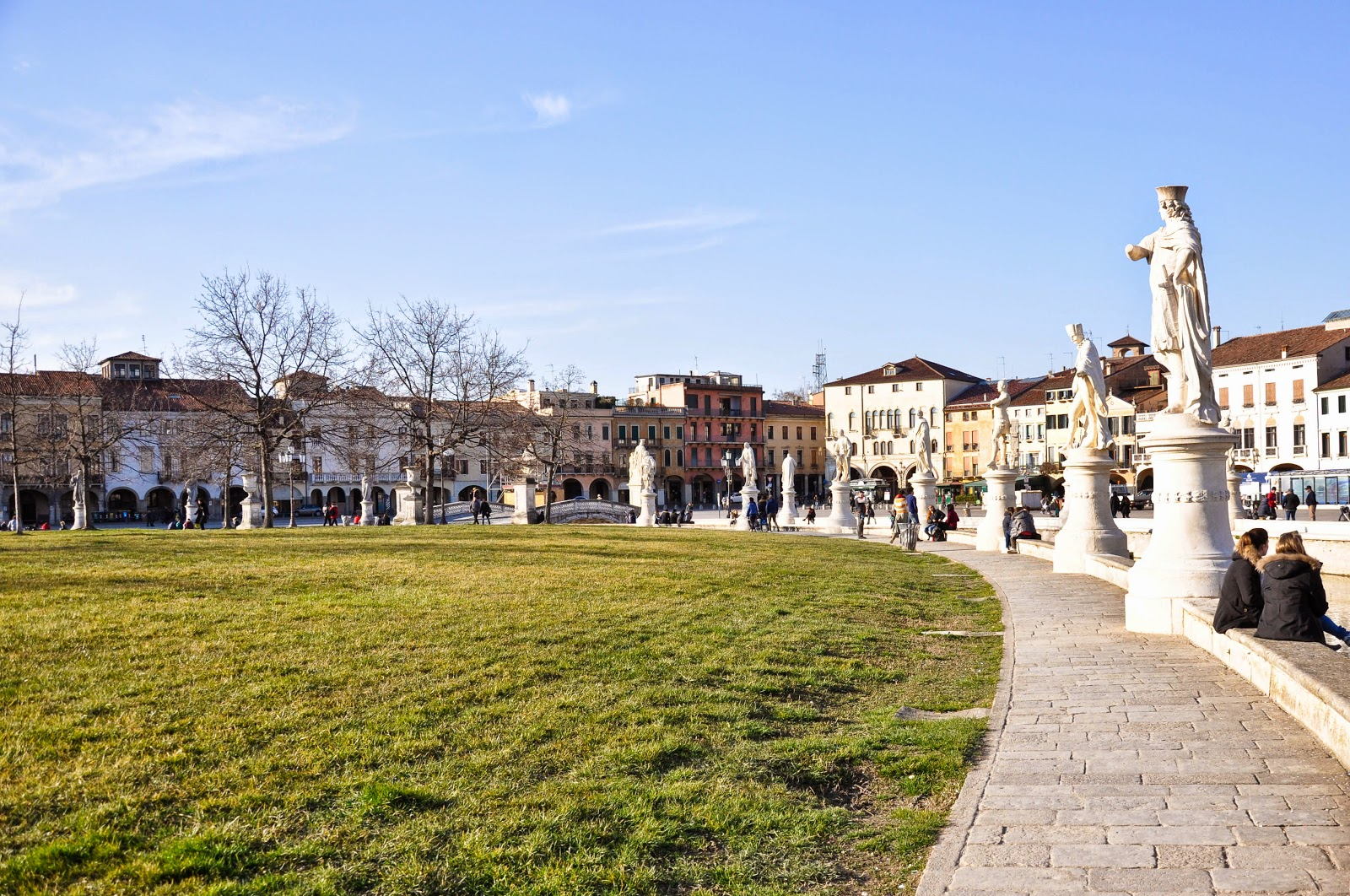Padua's Prato della Valle is the largest square in Italy