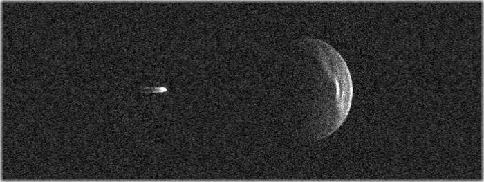 asteroide gigantesco com sua lua - 1999 KW4 - maxima aproximação com a Terra