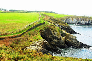 Foto de la senda costera de Navia