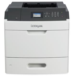 Der netzwerkfähige Lexmark MS810n Laserdrucker verfügt über einen 800 MHz Dual-Core-Prozessor,
