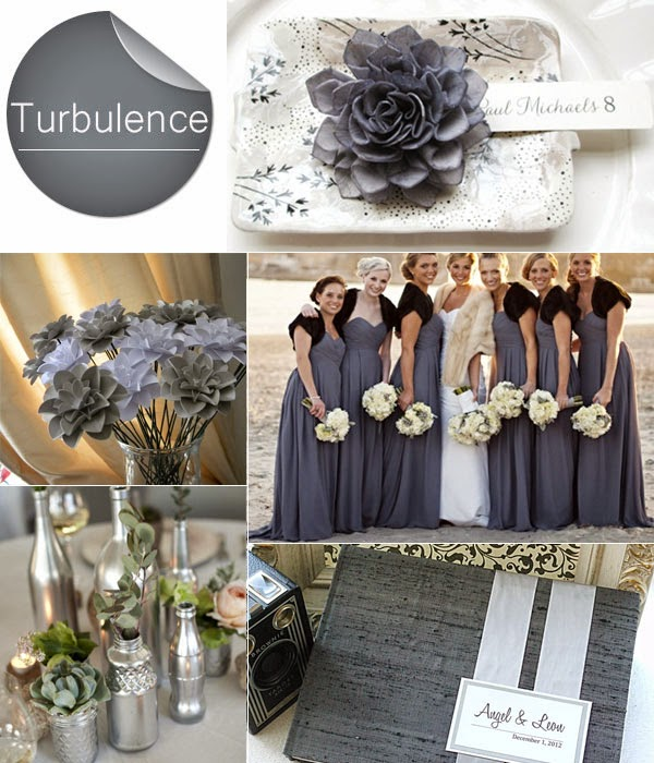 Memorable Wedding Lovely Gray Wedding Color Palettes