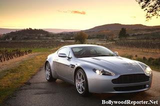 Ram Charan Teja - Aston Martin V8 Vantage