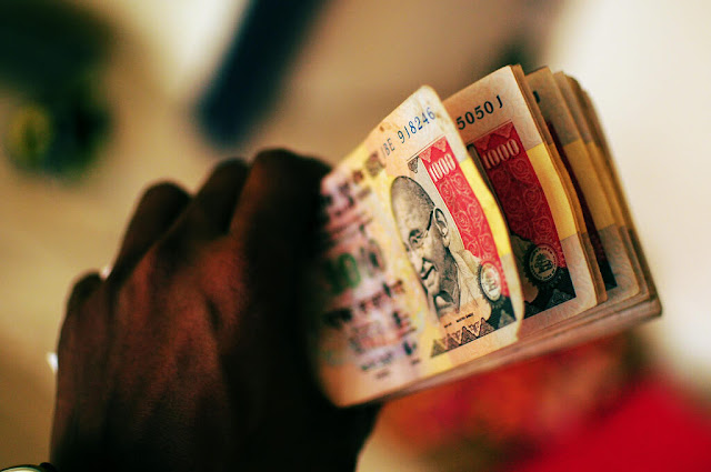 Demonetized Rs 1000 notes