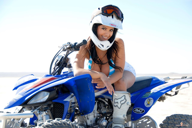 Denise Milani ATV hot and sexy Photoshoot picture 36