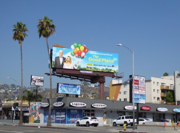 Good Place season 2 billboard