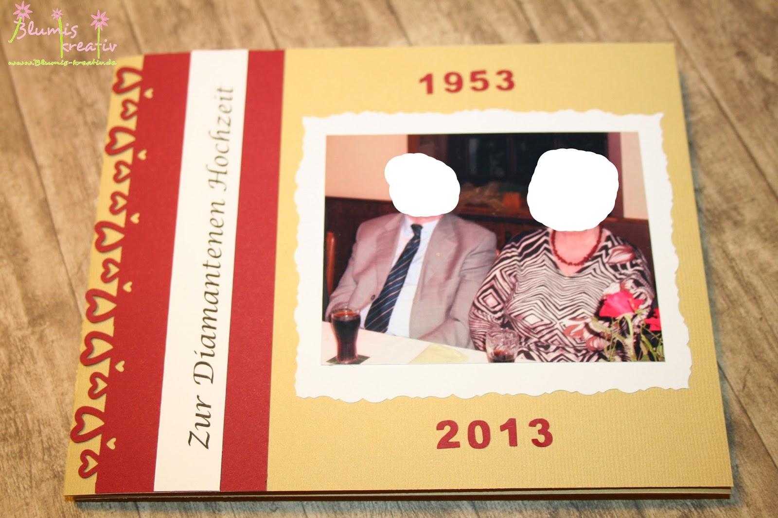 Zur diamantenen Hochzeit  Minialbum