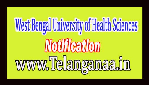 West Bengal University of Health Sciences (WBUHS) CBET 2016 Notification