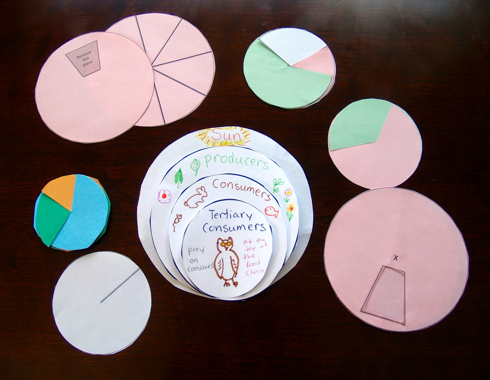 circles are easier to do if you have a template circles can be hard for students to cut without a template you can find templates for circle foldables