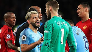 Manchester United vs Manchester City 0-2 Full Highlights