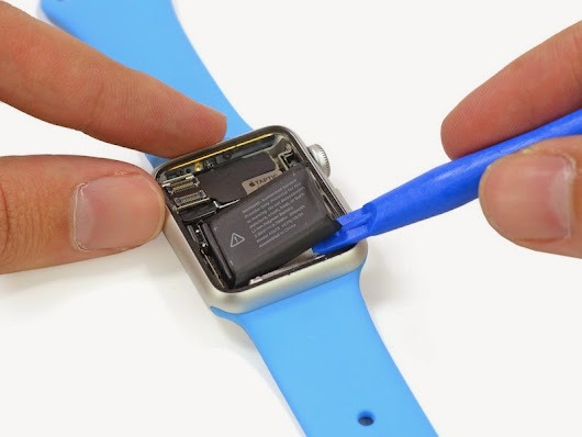 Apple Watch teardown reveals 205mAh battery; gives us a look inside the Taptic Engine and Digital Crown - Redsn0w, Redsnow Jailbreak 8.1.2 Evasi0n iOS 8.3