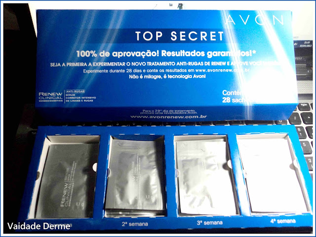 Top Secret Renew Clinical Sérum Corretor Intensivo de Linhas e Rugas da Avon