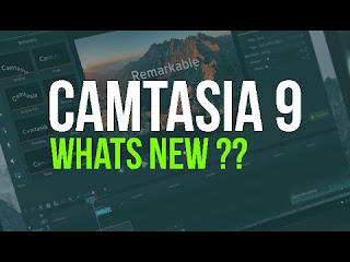 whats' new in camtasia studio picture www.nisarhussain.com