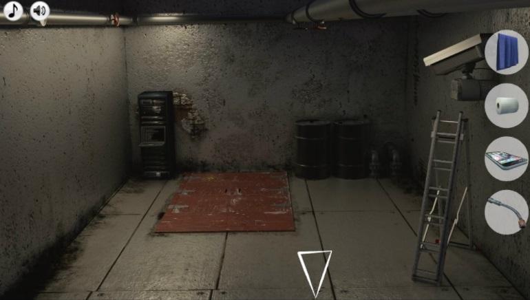 Escape the prison adventure underground