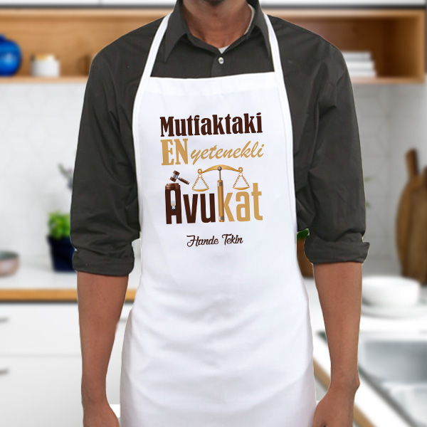 Avukata Hediye Mutfak Önlüğü