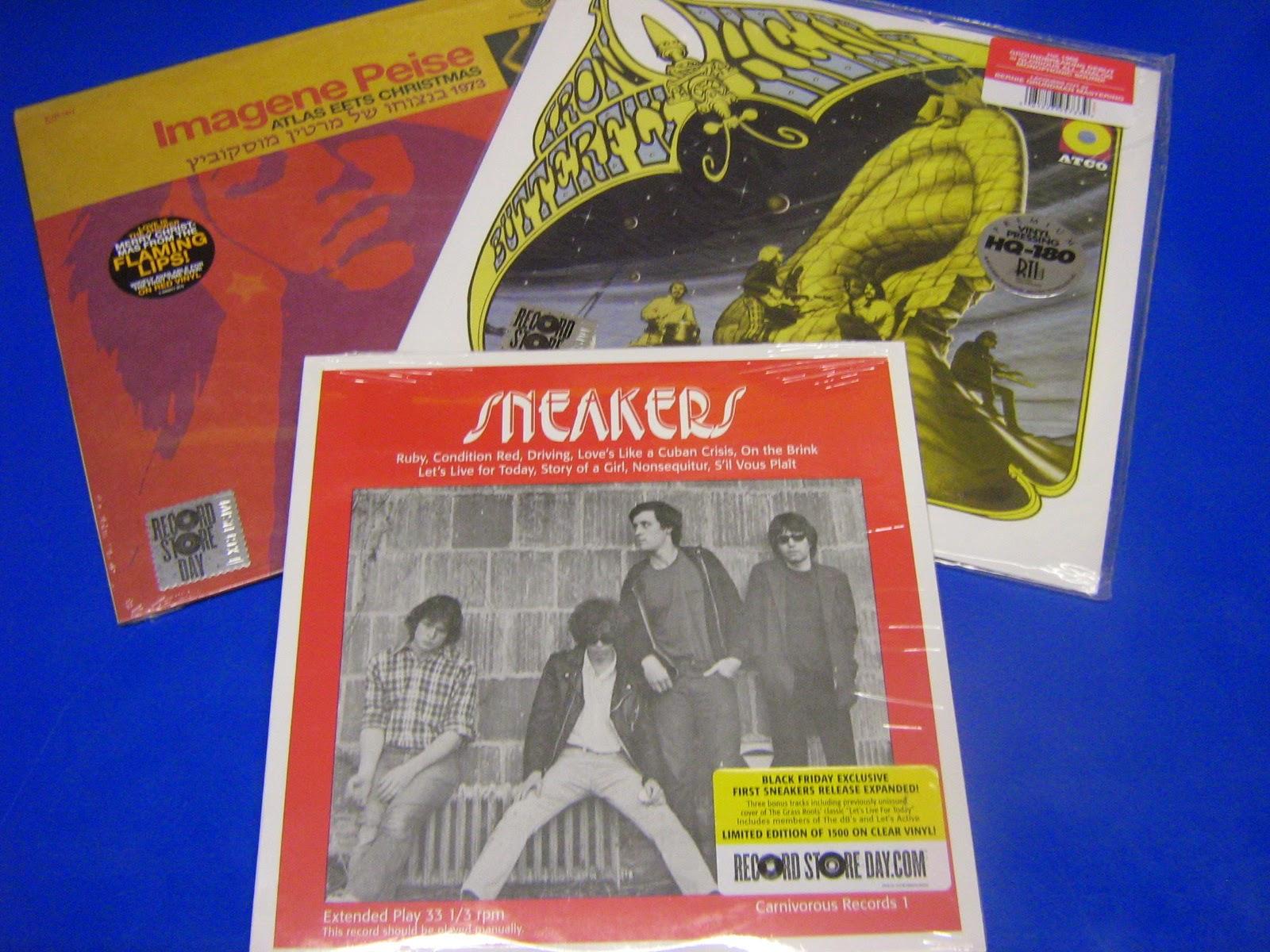 Sneakers Ltd Ed Of 1500 On Clear Vinyl