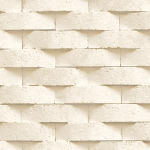 giấy dán tường phòng khách điểm nhấn giả gạch