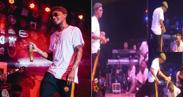 Felabration 2017: Wizkid Gives Cripple Guy Money, Takes Him Home To Give Him Something Special