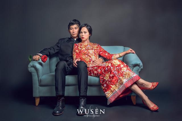 龍鳳褂婚紗拍攝
