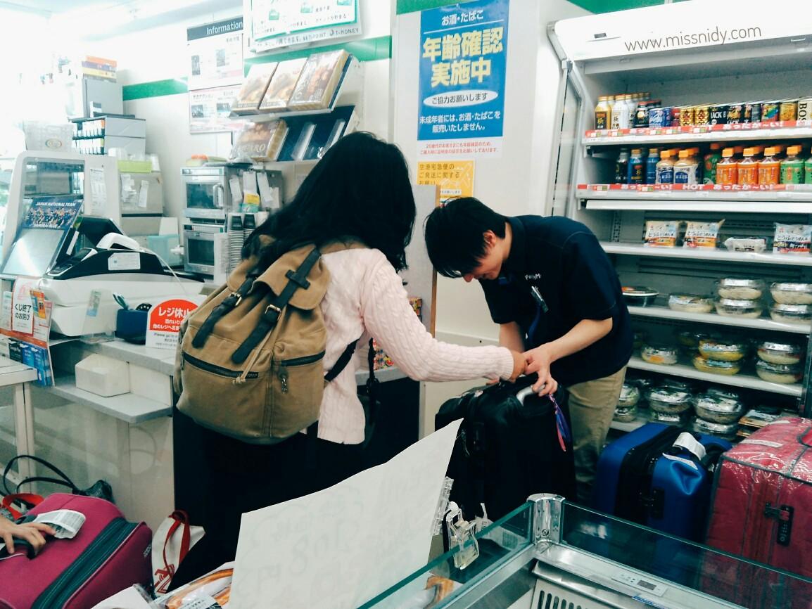 pengalaman kirim koper di jepang