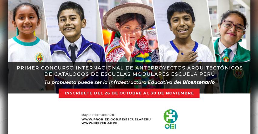 MINEDU busca la nueva infraestructura educativa del Bicentenario - www.minedu.gob.pe