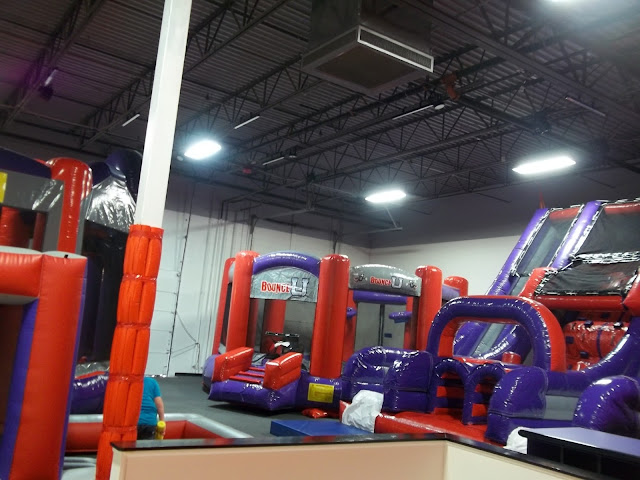 Inflatable Bounce Place for birthday party - Jumping