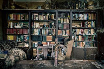 casa abandonada en Bélgica