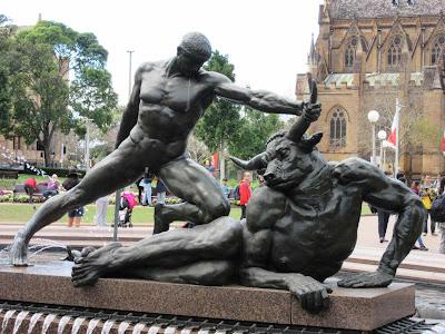 Fuente Archibald, en Hyde Park. Sydney