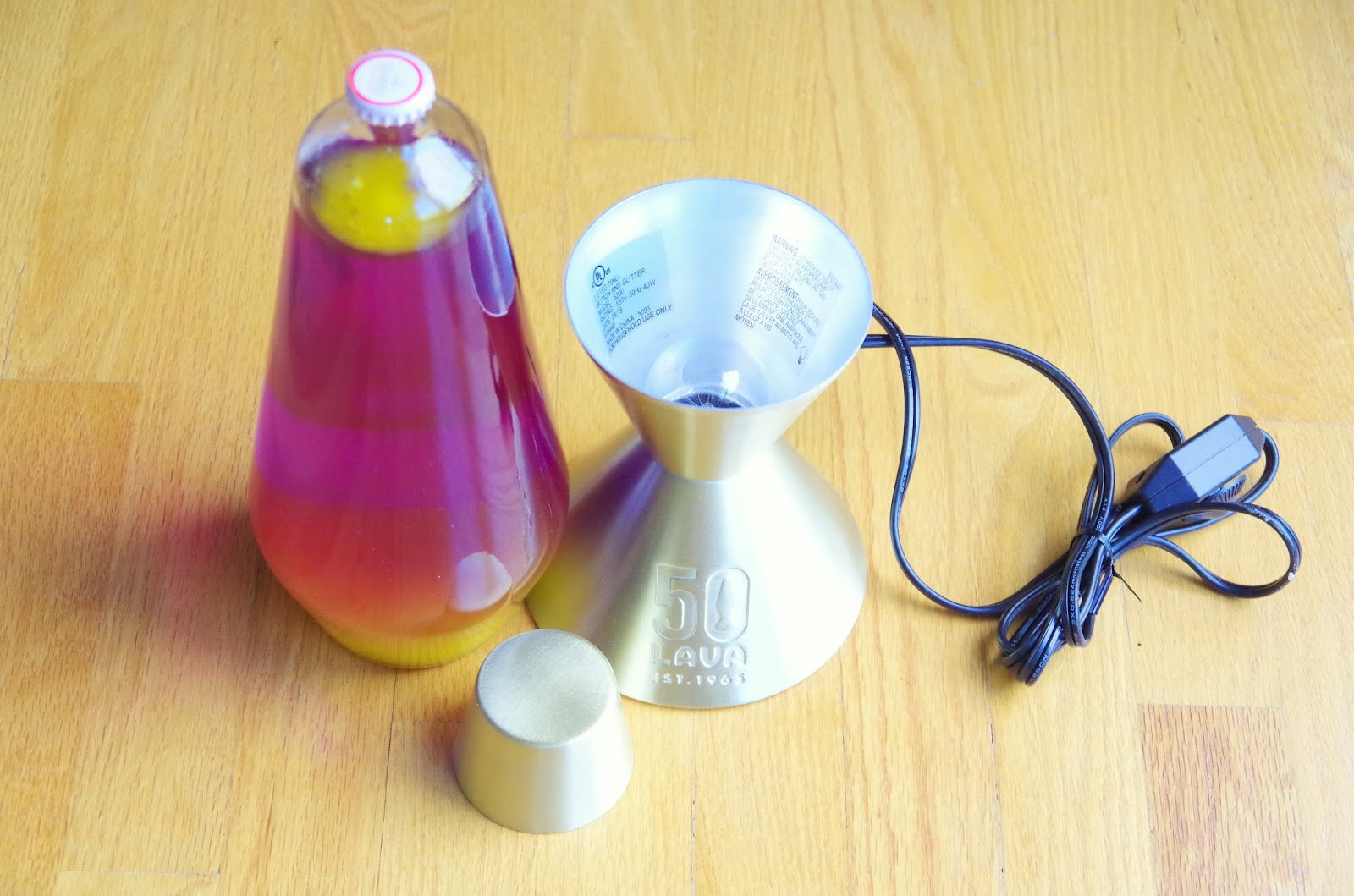 Mix and Chic: Product review- The original Lava Lamp!