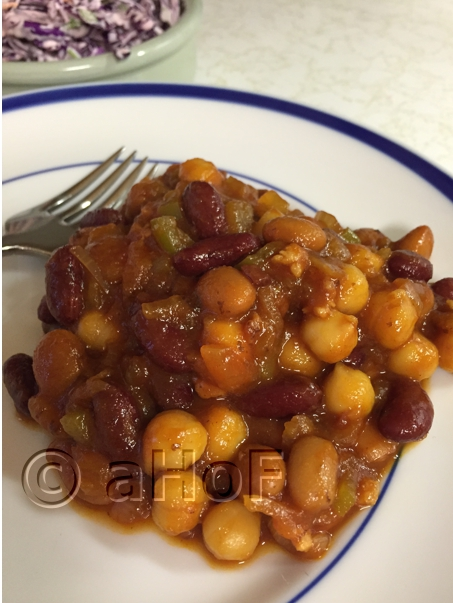 Three Bean & Bacon Medley