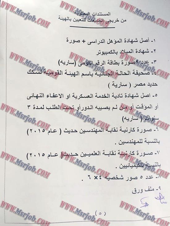 ظهرت الان مواعيد تقديم الاوراق للمقبولين بوظائف سكك حديد مصر 2017