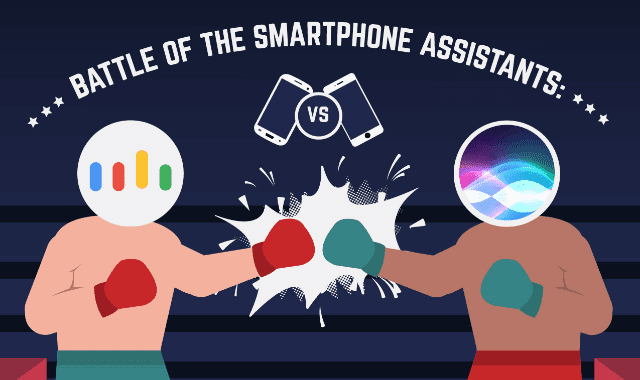 Battle of the Smartphone Assistants VS Google Assistant VS Siri