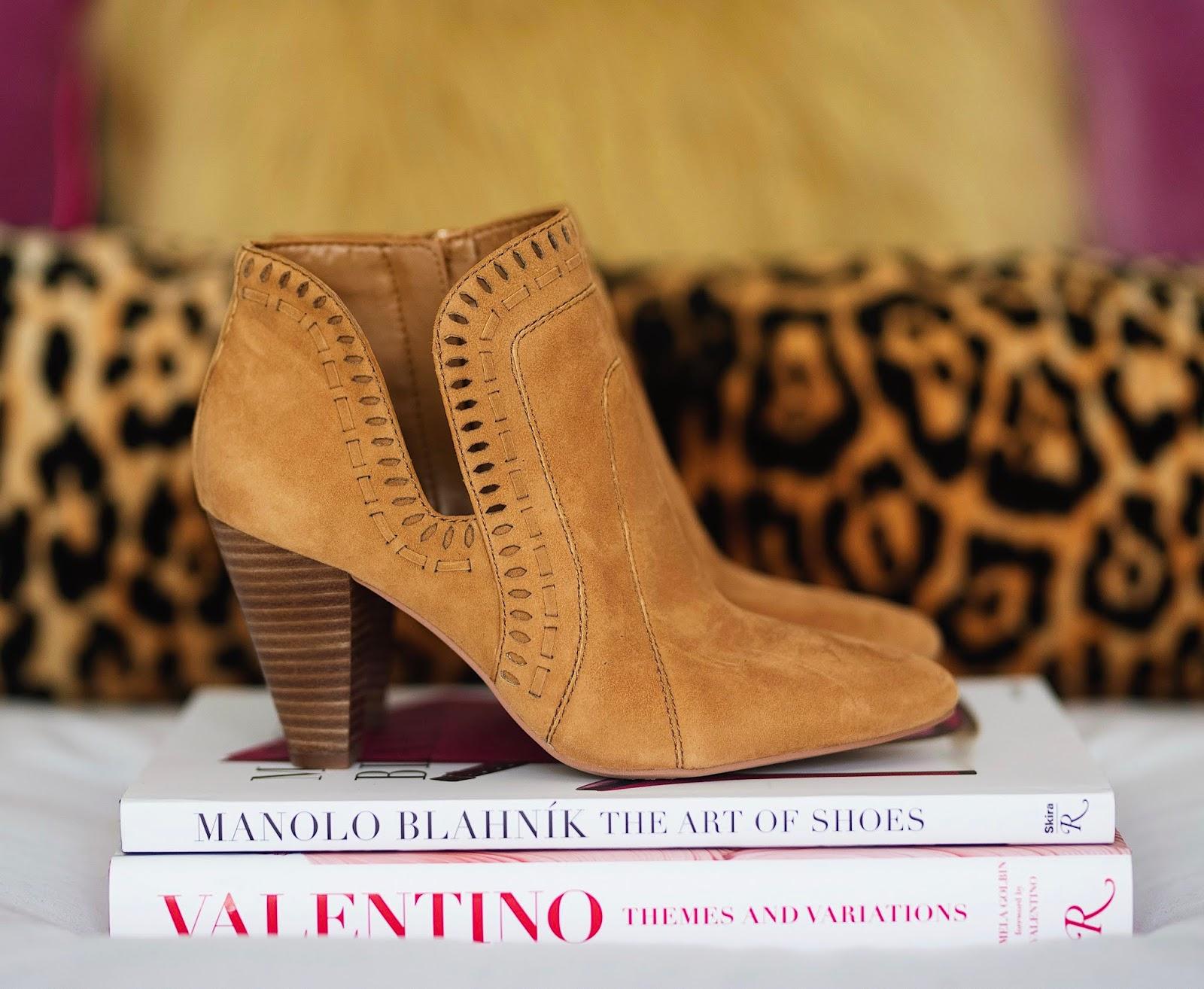 Nordstrom Anniversary Sale Vince Camuto Reeista Booties - Something Delightful Blog