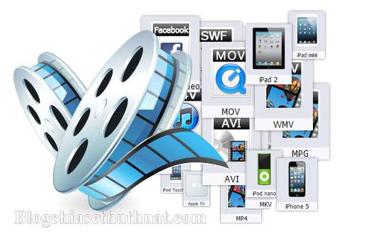 Top phần mềm đổi đuôi video sang 3gp, mp3, mp4, avi chất lượng cao