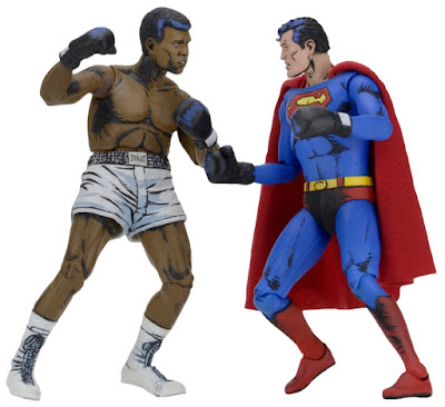 DC Comics Action Figure 2 Pack Superman vs Muhammad Ali by NECA