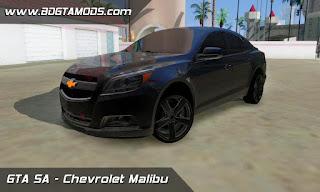 Chevrolet Malibu para GTA San Andreas, GTA SA