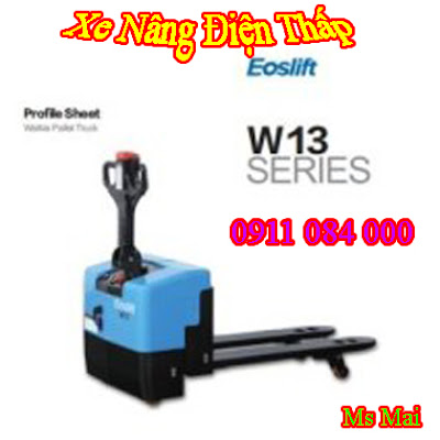 Xe nâng điện thấp 1, 5 tấn - 2 tấn - 2, 5 tấn nhập khẩu giá siêu rẻ chất lượng cao