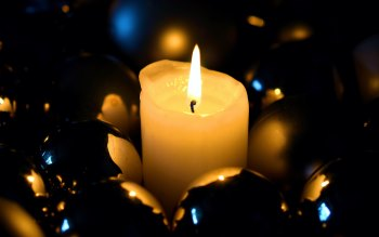 Wallpaper: Christmas Candlelight