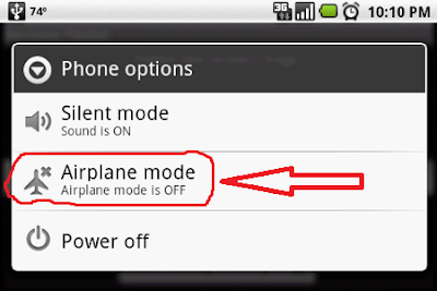 mobile Airplane mode