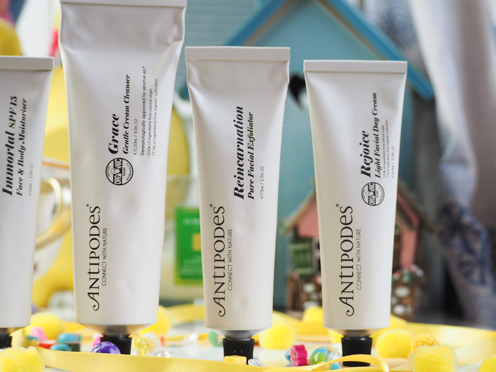 First Impressions: Antipodes Skincare* reincarnation, rejoice, grace, immortal