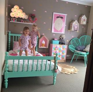 çocuk odadı dekorasyonları