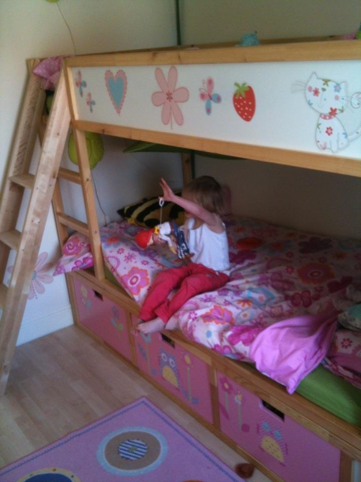 Fairy Princess Treehouse Kura Bunk Beds With Stuva