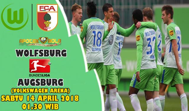 Prediksi Wolfsburg vs Augsburg 14 April 2018