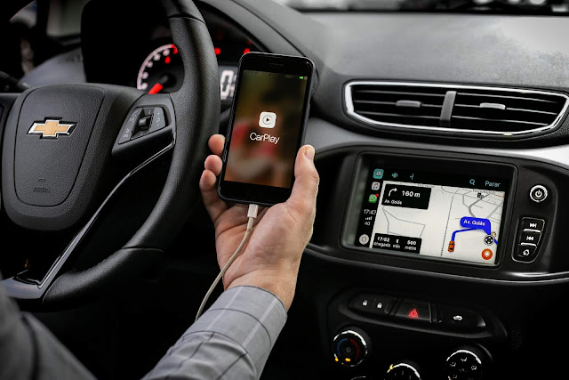 Novo Chevrolet Onix 2019 - Mylink - Waze - CarPlay