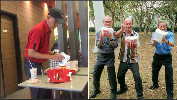 Netizens praise senior citizen McDonald's crew in a viral post