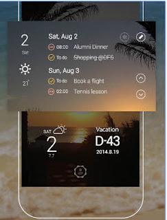Aplikasi Kalender Android terbaik terpopuler gratis SolCalendar - Calendar  To do