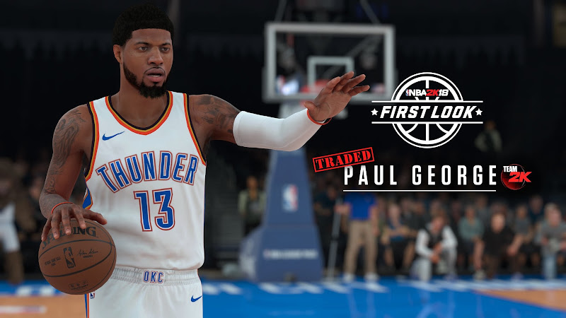 NBA 2K18 Paul George OKC